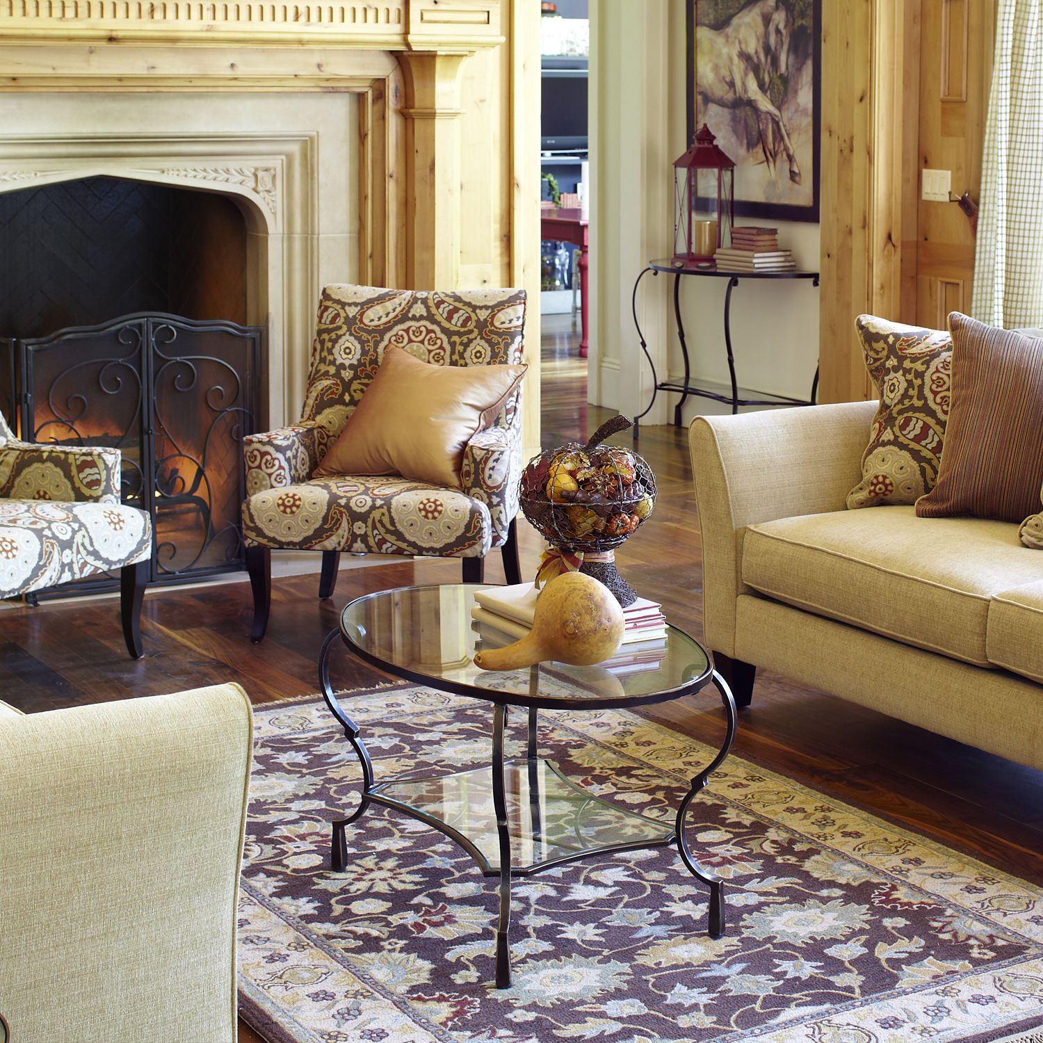 Chasca Glass Top Brown Oval Coffee Table Coffee Table Oval Coffee Tables Living Room Inspiration