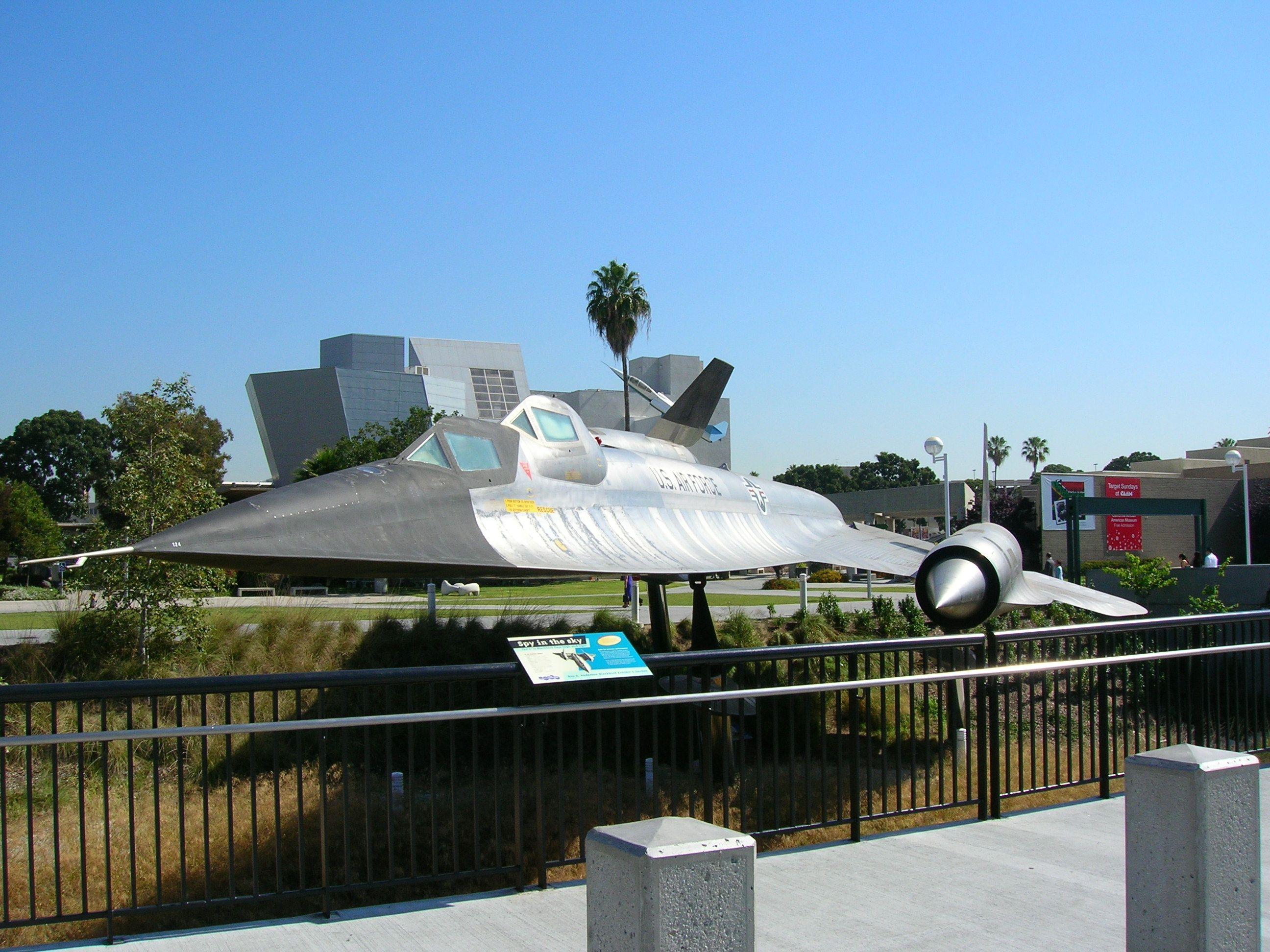 A12b titanium goose at california museum of science and