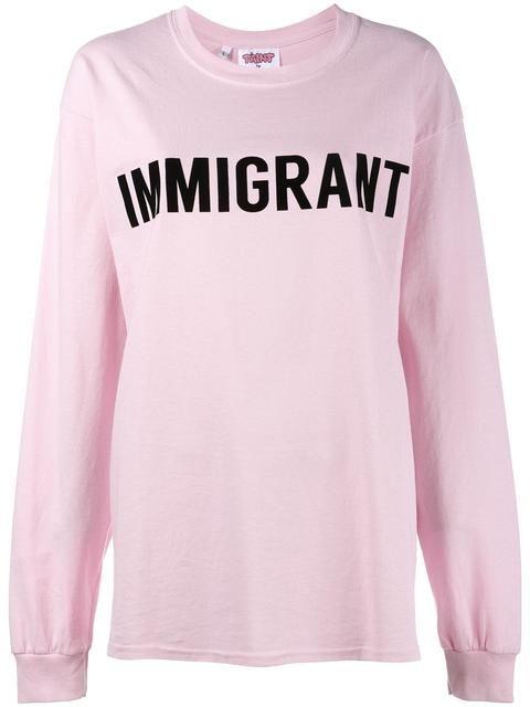 Ashish Immigrant T-shirt - Farfetch