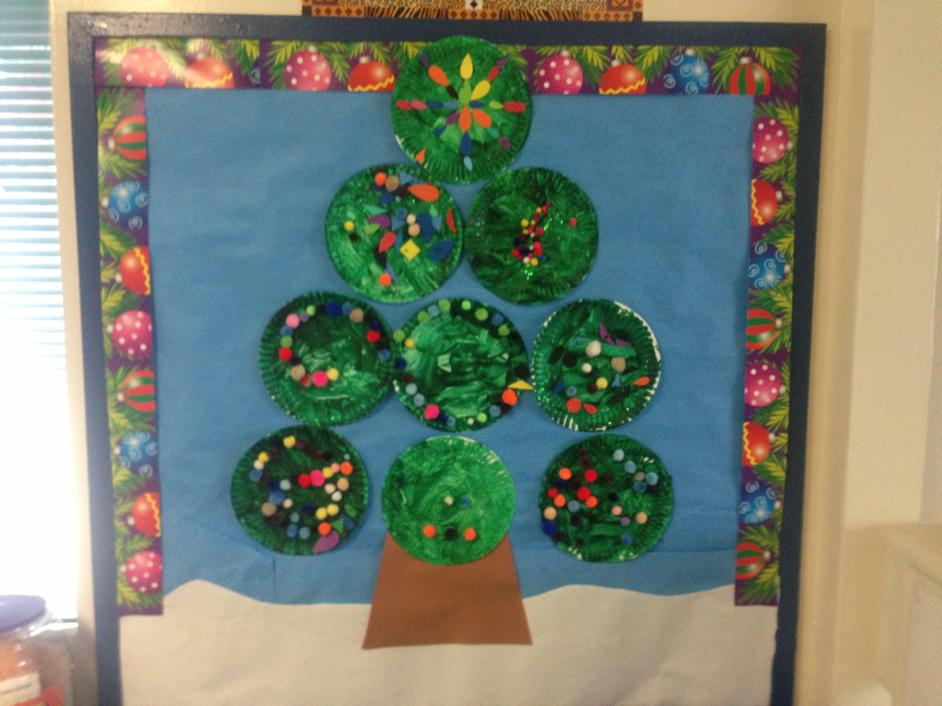 Bulletin Board Christmas Decoration Ideas For School Board