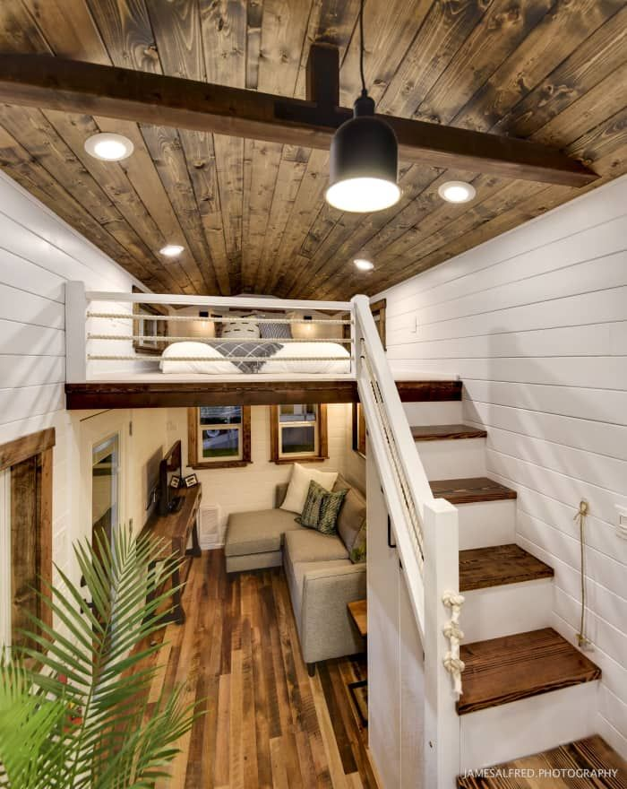 Rustic Meets Luxury 30ft Loft Edition Tiny House For