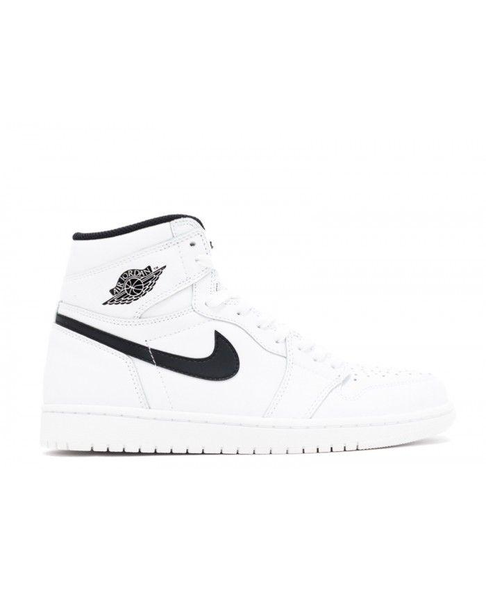 fb3f18dea2fe3d Air Jordan 1 Retro High Og Ying Yang Pack White Black White 555088 ...