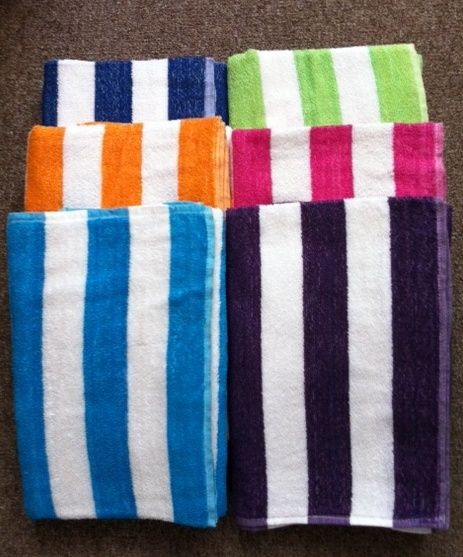 Dollardays Com Cabana Stripe Beach Towel 27 X 54 Wholesale