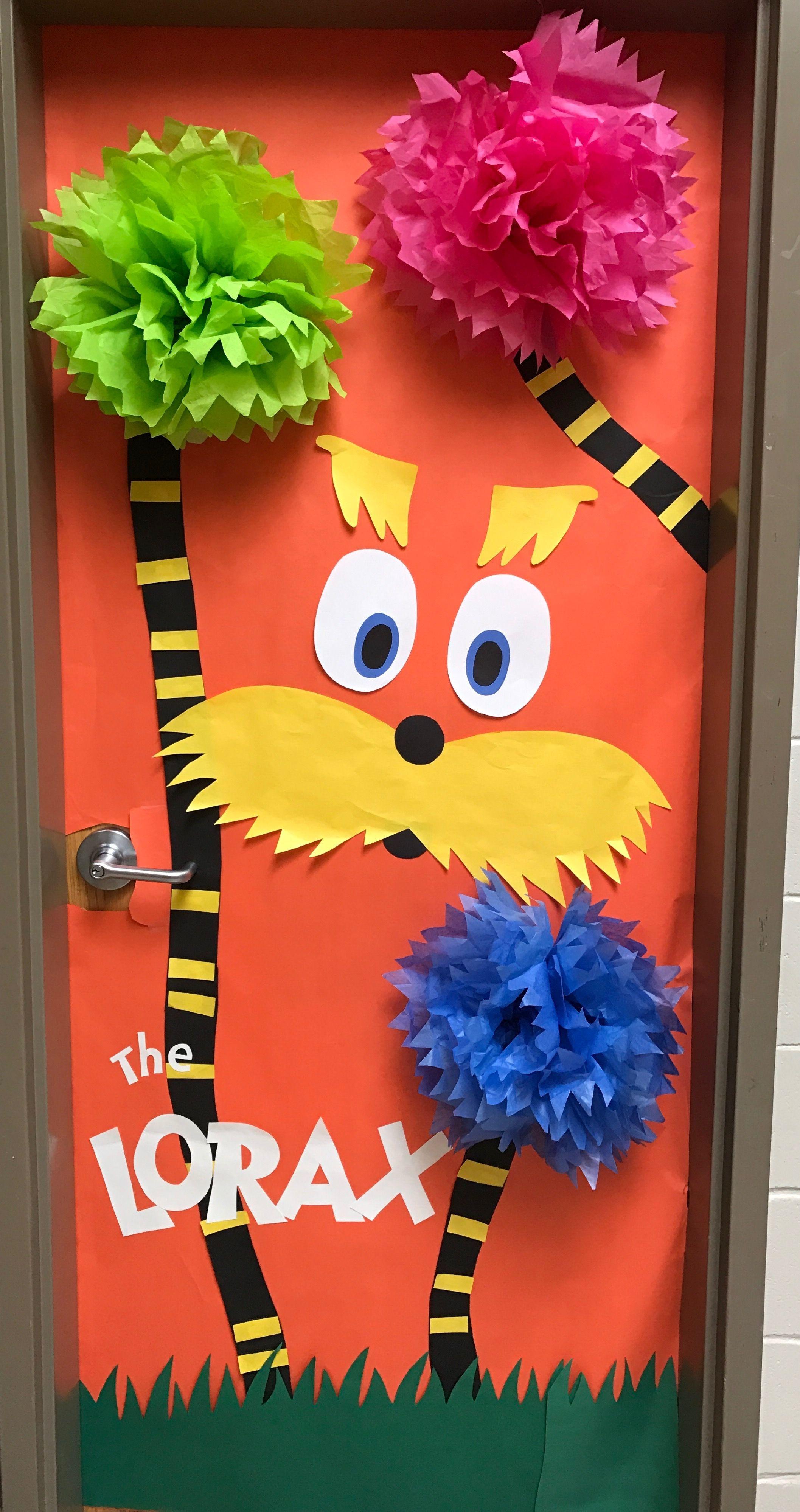 The Lorax Dr Seuss Classroom Door