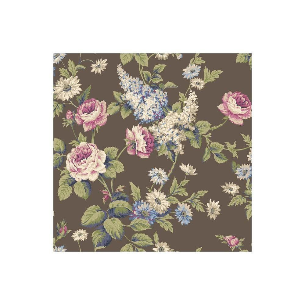 York Wallcoverings CT0843 Callaway Cottage Floral