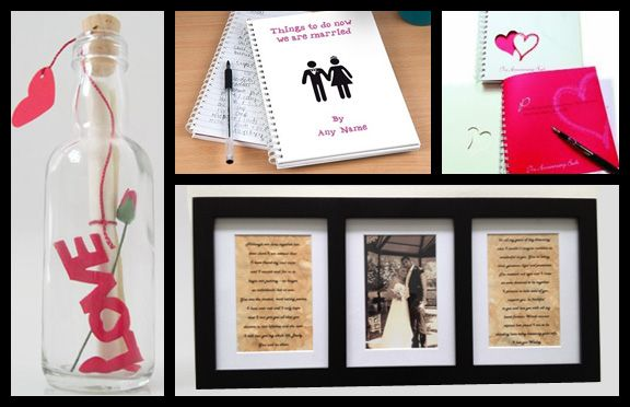 One Year Wedding Anniversary Gift For Husband: First Anniversary Gifts For Men. Paper Anniversary