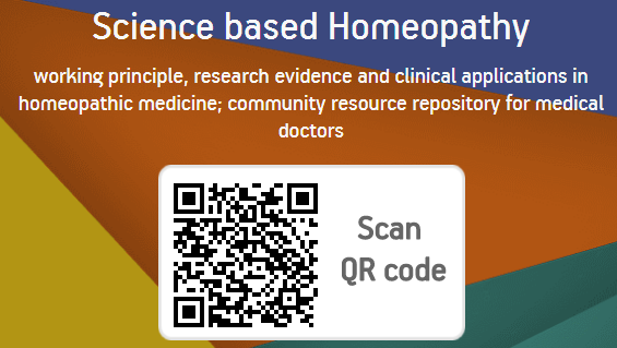 Scan QR code and unlock the details about Homeopathy