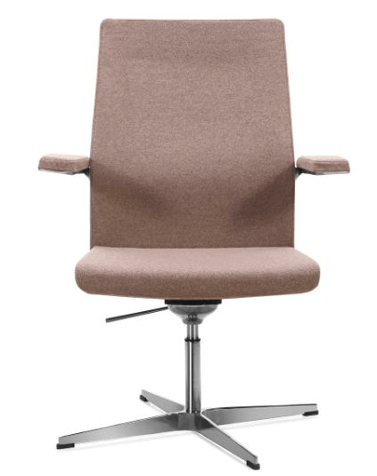 Ergonomic Office Chair No Wheels