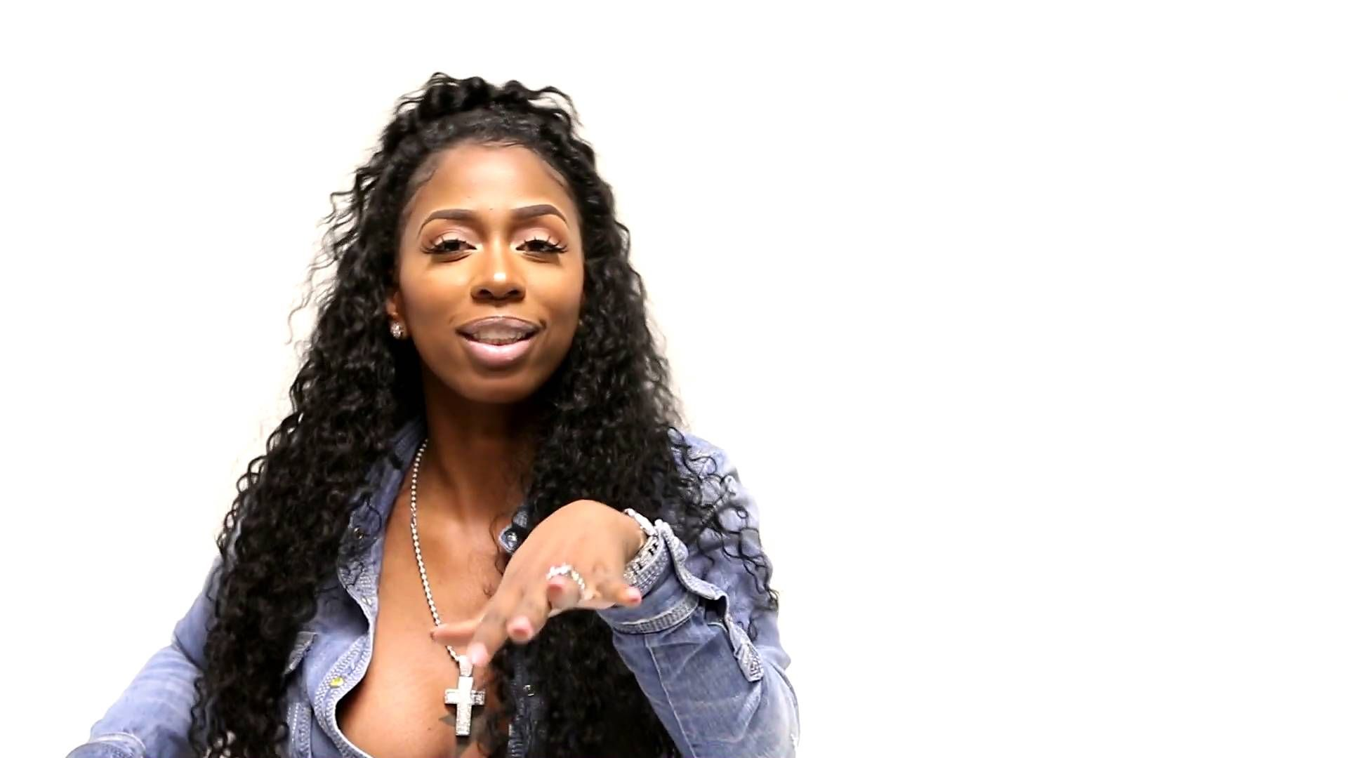 Kash Doll aka Arkeisha Knight is a rapper originally from