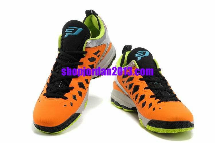 free shipping 86b46 9da42 Jordan CP3.VIX Chris Paul Shoes Orange Fluorescent Green Cheap NBA Basketball  Shoes  Orange  Womens  Sneakers