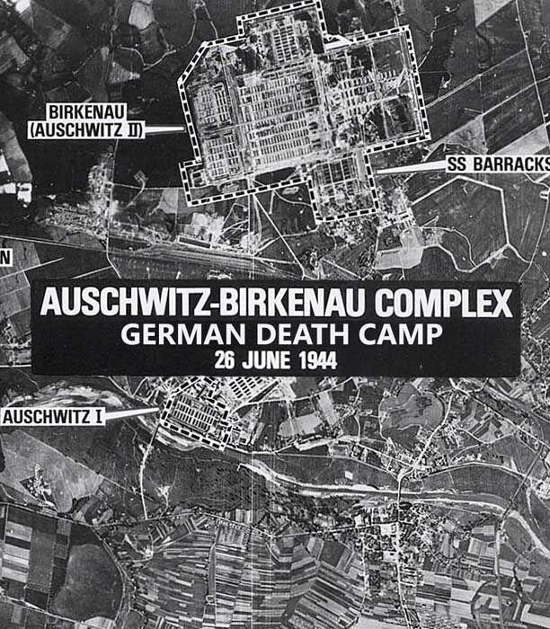 Scroll Down To View Map EN AuschwitzBirkenau Was A Network Of - Third reich map 1944