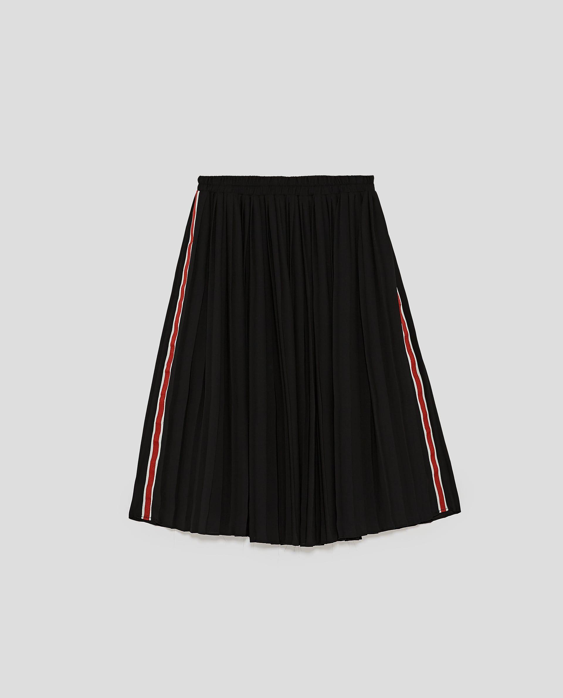 Billede 8 Af Ternet Midi Nederdel Fra Zara Dengan Gambar Gaya Model Pakaian Gaya Model Pakaian Korea Model Pakaian