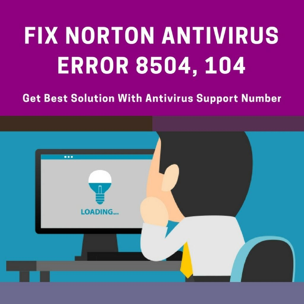 What is Norton Error 8504,104? How can I Troubleshoot It