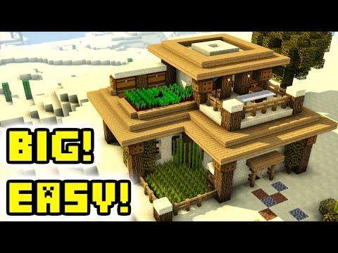 Minecraft Tutorial Advanced Large Desert House Build Youtube