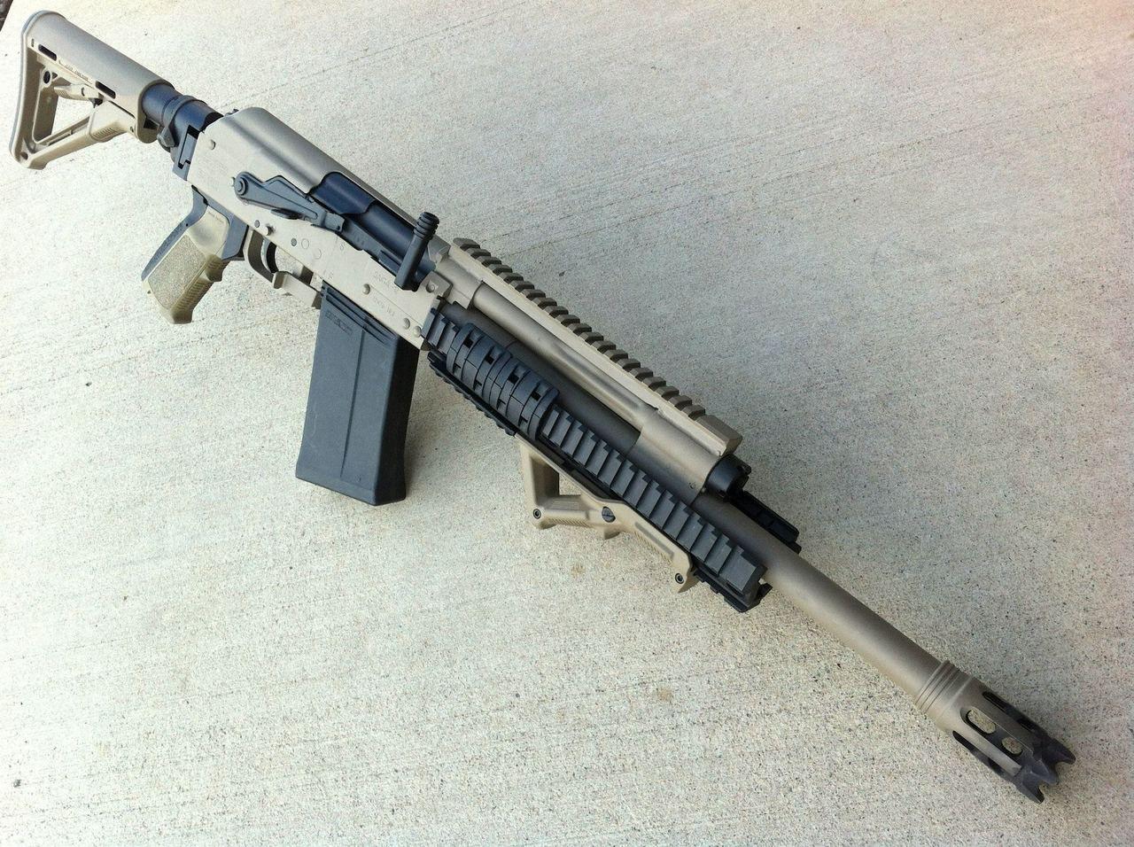 Saiga-12. The hunting gun Saiga-12. Caliber, characteristics, photo