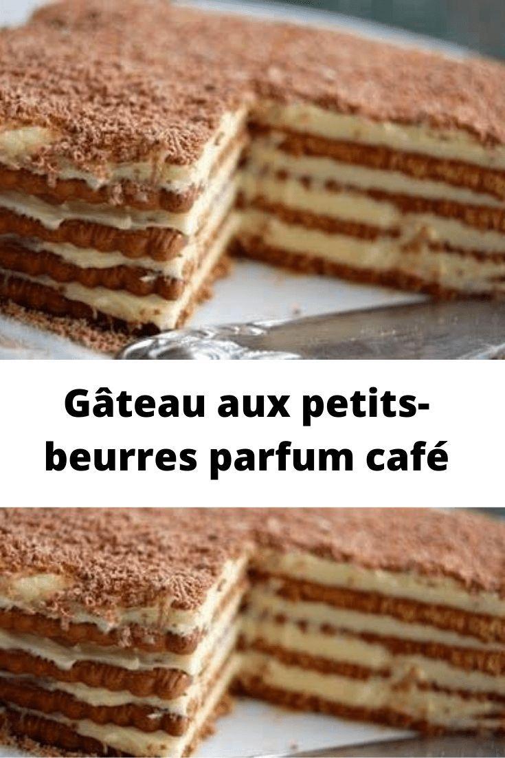 Gâteau aux petitsbeurres parfum café comme dans mon enfance Page 2 Toutes Recettes