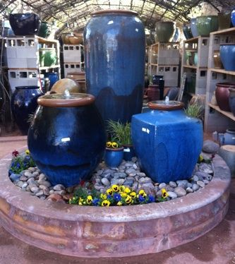 Exceptionnel Voted Number 1 GLAZED EXPRESSIONS POTTERY, Fountains MAIN.