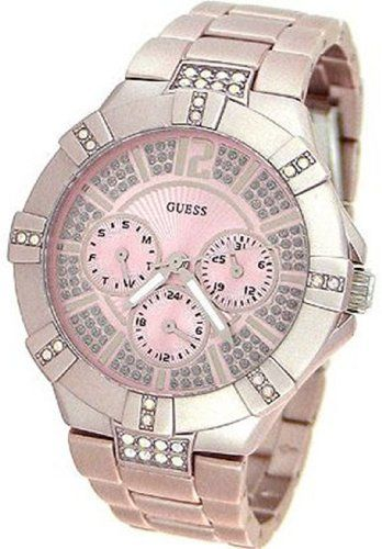 e00eb55f6513 Guess WaterPro Dazzling Sport Multifunction - Pink Women s watch  U12657L2   Watches  Amazon.com