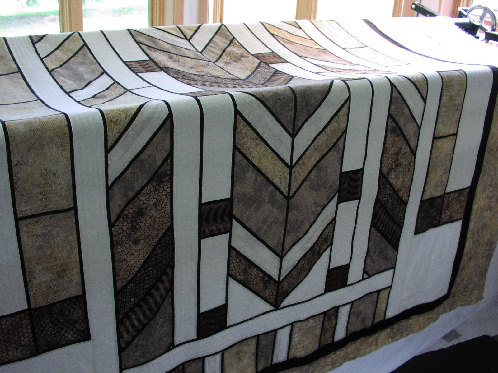 Frank Lloyd Wright Inspired Quilt All Things Quilt