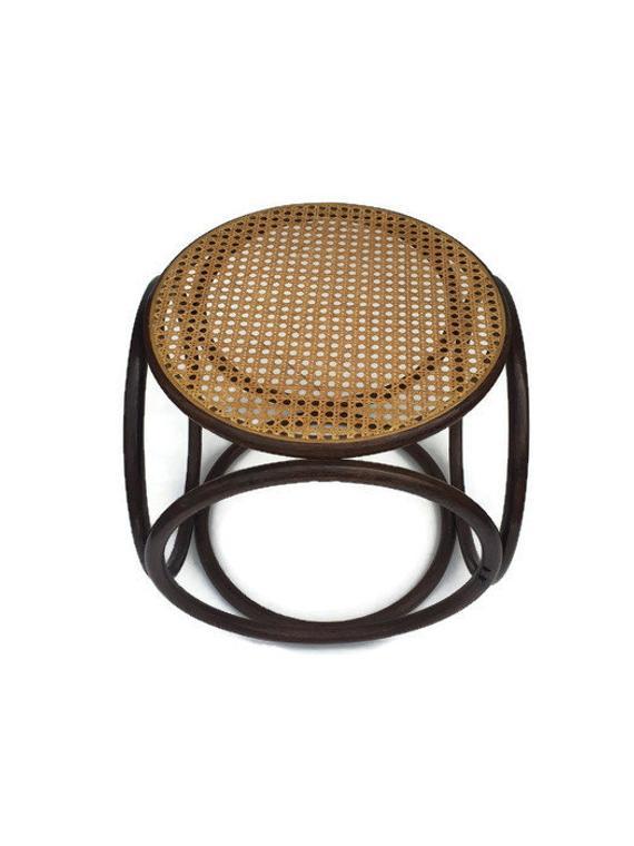 Amazing Mid Century Modern Stool 16 Bent Wood Ottoman Pouf Thonet Short Links Chair Design For Home Short Linksinfo
