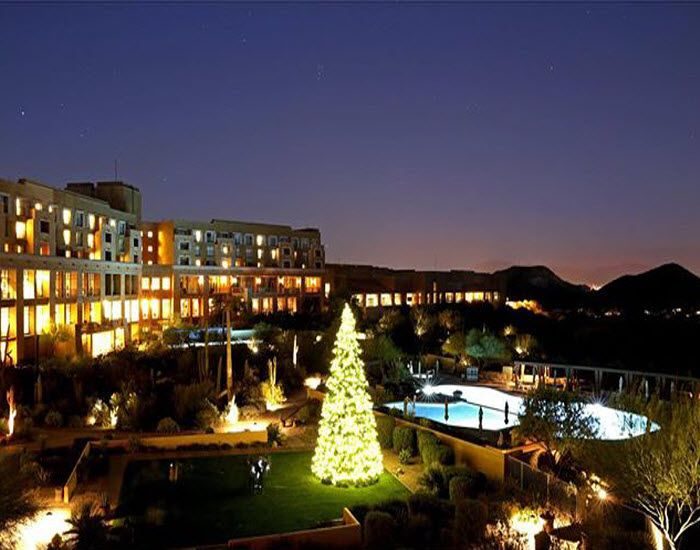 It Is Beginning To Look Like Christmas At Jw Marriott Tucson Starr P Resort Spa