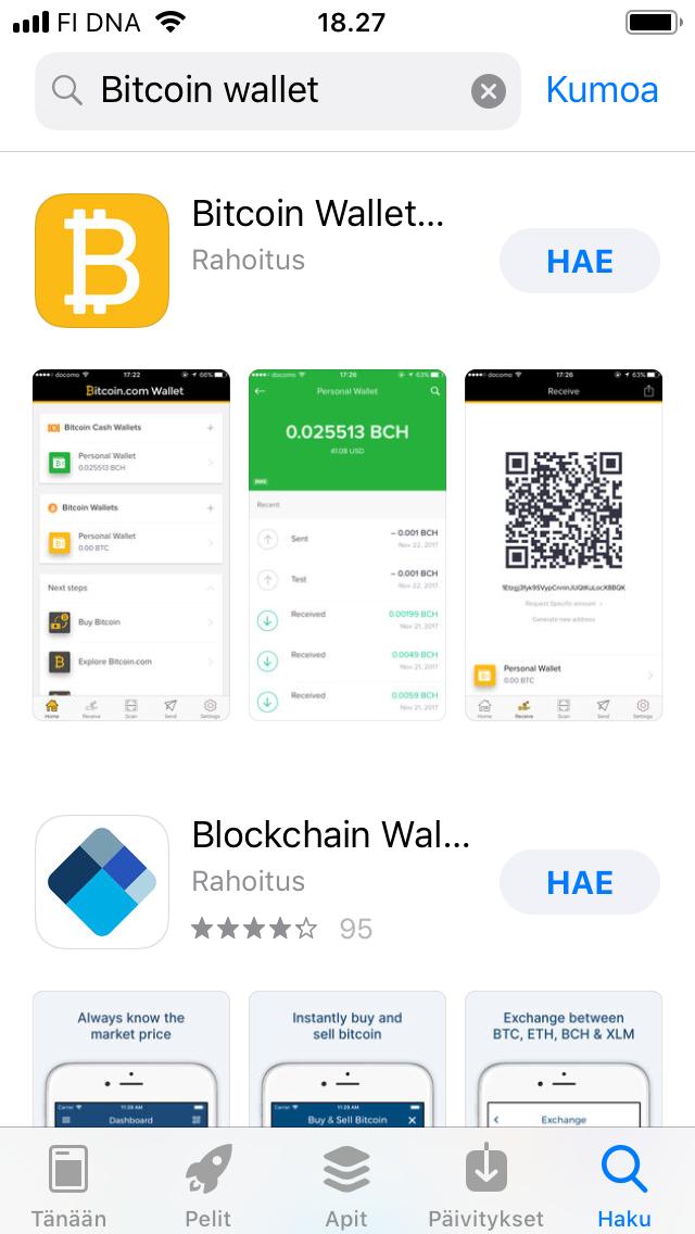 bitcoin wallet market