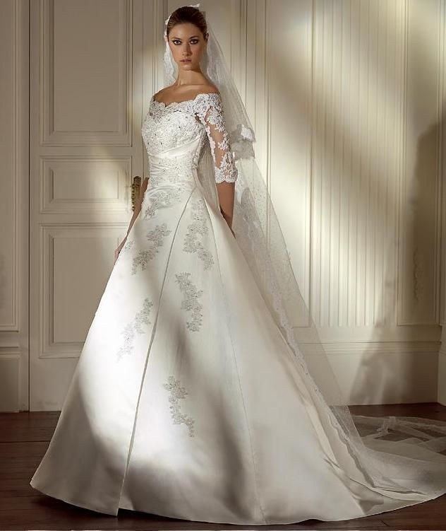 Best Wedding Dress For Pear Shaped Body Wedding Dresses Winter Wedding Dress Wedding Dress Sleeves