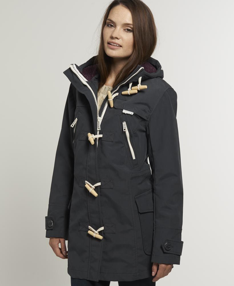 Superdry Harbour Duffle Coat. Get Free Shipping on All Orders in ...