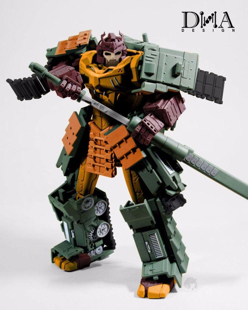 New DNA Design Transformers DS-01 Susanoo Bludgeon Figure in Stock