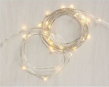 Twinkle String Lights - contemporary - holiday decorations - Crate