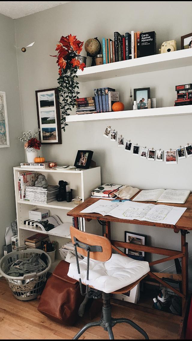 Bedroom Desk With Storage
