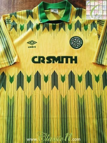 online retailer 28689 a1e0d Relive Celtic's 1989/1990 season with this original Umbro ...