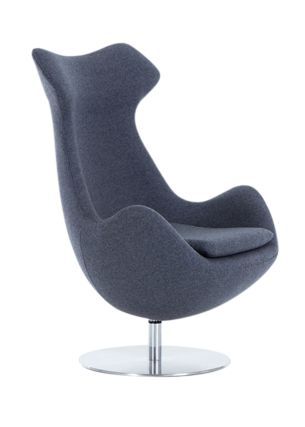 Fauteuil Cocoon Home Pinterest Egg Chair And Arne Jacobsen - Formation decorateur interieur avec fauteuil a oreille design