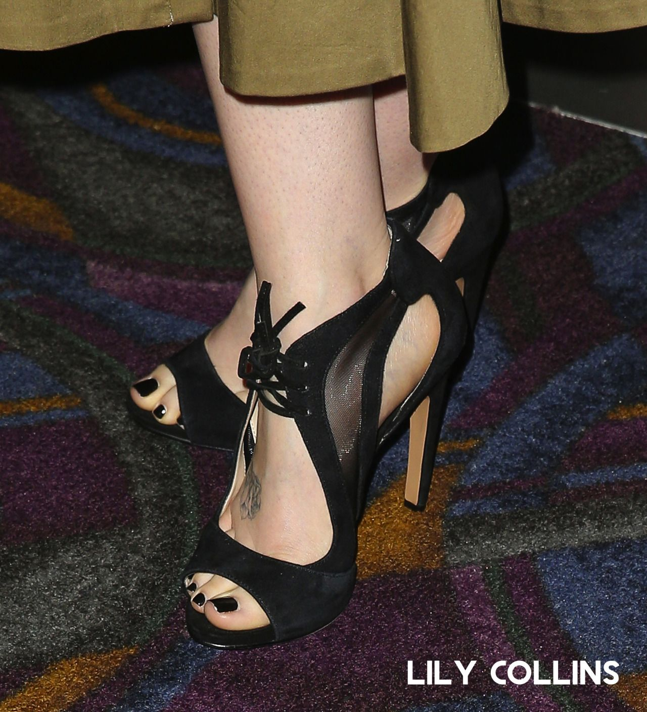 Actrices Porno Feet Top lily collins feet www.feet.to/vip | heels, celebrity feet
