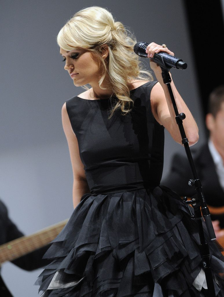 Sound of music wedding dress  Carrie Underwood Photos Photos Nordstrom Symphony Fashion Show