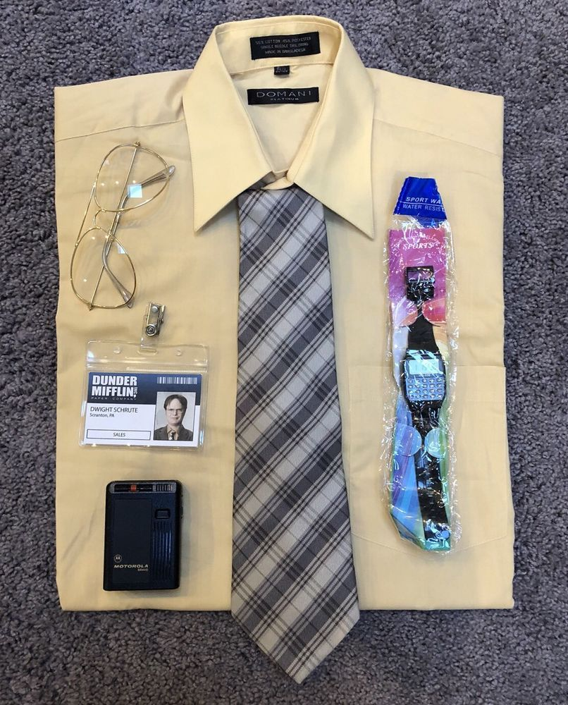 Dwight Schrute Dunder Mifflin Costume from The Office