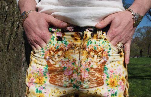 fancy cat pants
