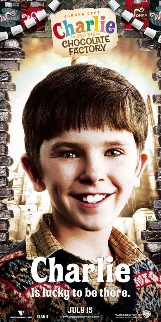 Personaje Charlie Bucket Charlie Y La Fabrica De Chocolate