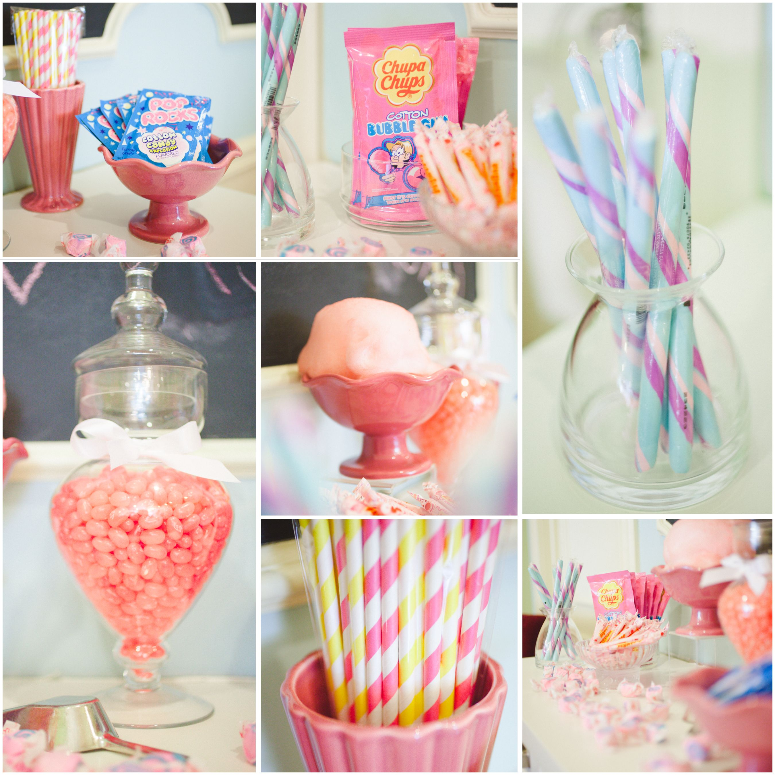Cotton Candy Birthday Theme