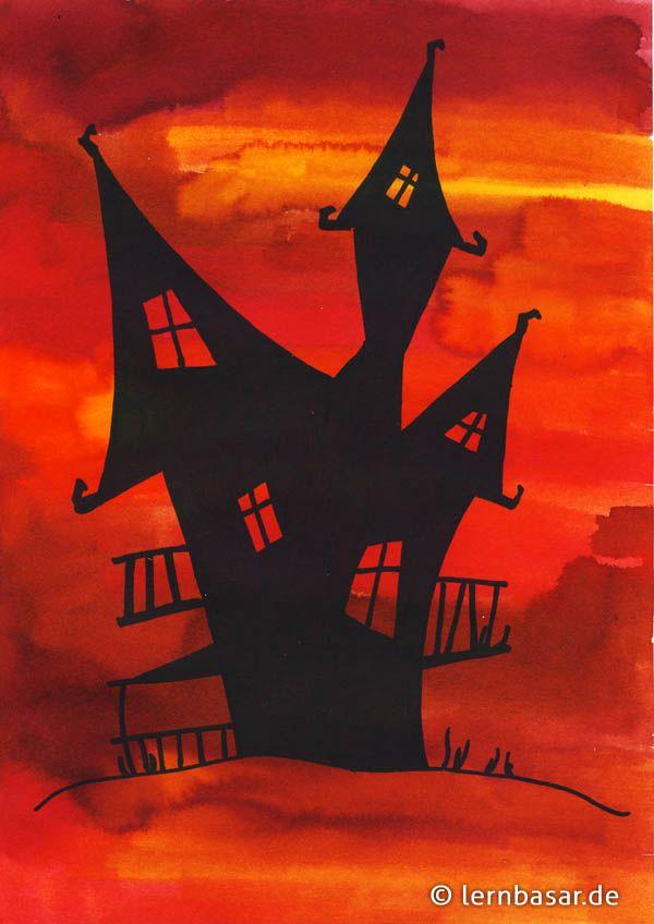 Wie Wird Es Gemacht Halloween Kunst Herbst Kunst Kunst Grundschule