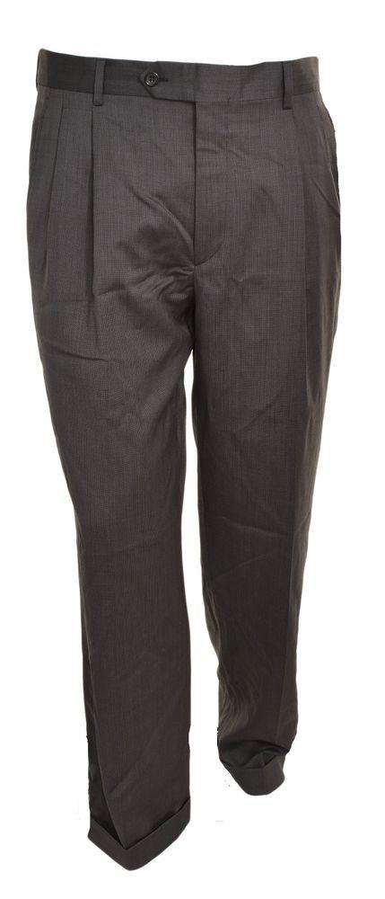 49b10661 Details about SALE! Men's Kirkland Signature 100% Italian Wool ...