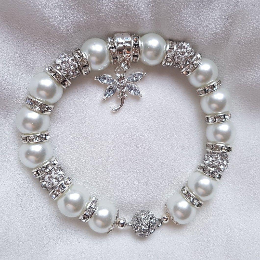 Bracelet pour mariage https://alittlemarket.com/boutique/bijoux_charme_style_lady-3226091.html