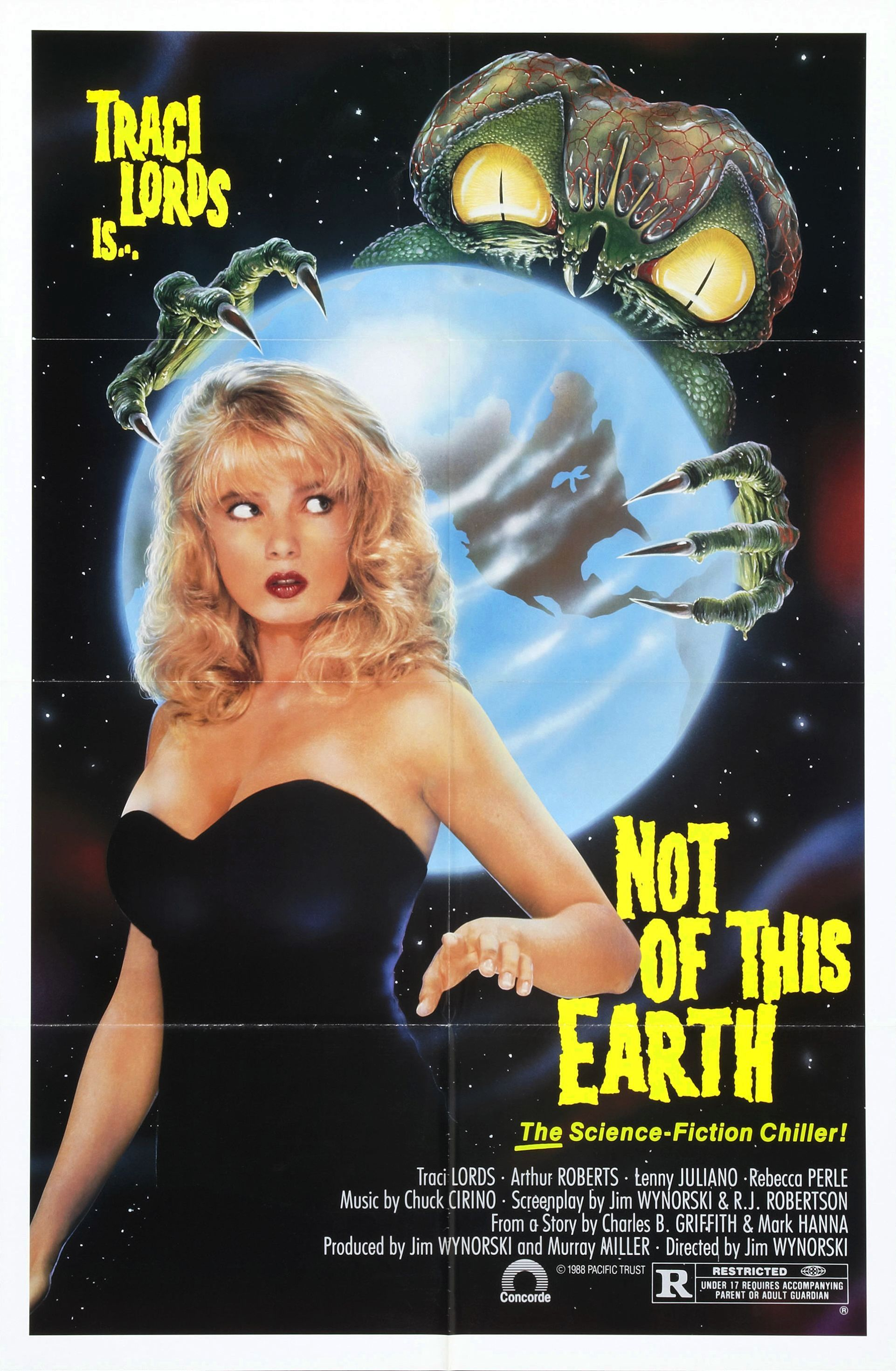 Not Of This Earth 1988  Vampires  Traci Lords Movies-6439