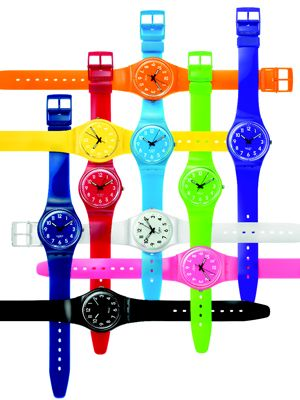 Pop Of Color Swatch Watch Colorful Watches Swatch