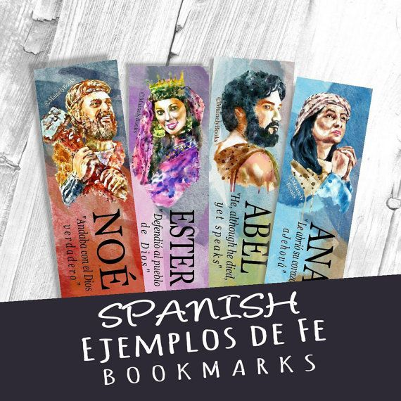 Hey, I found this really awesome Etsy listing at https://www.etsy.com/listing/244610440/spanish-15-imitate-their-faith-book