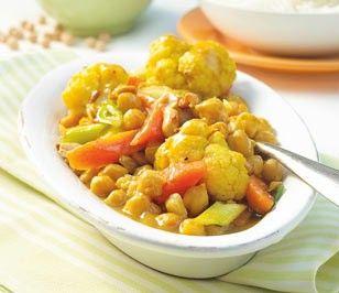 Kichererbsen-Curry Rezept | Kichererbsen curry, Curry rezepte und ...
