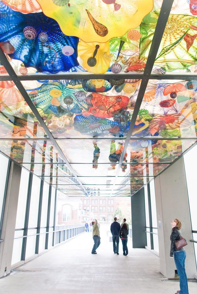 Wonder Enthusiast: Dale Chihuly: Fantasy Glass of Tacoma, Washington