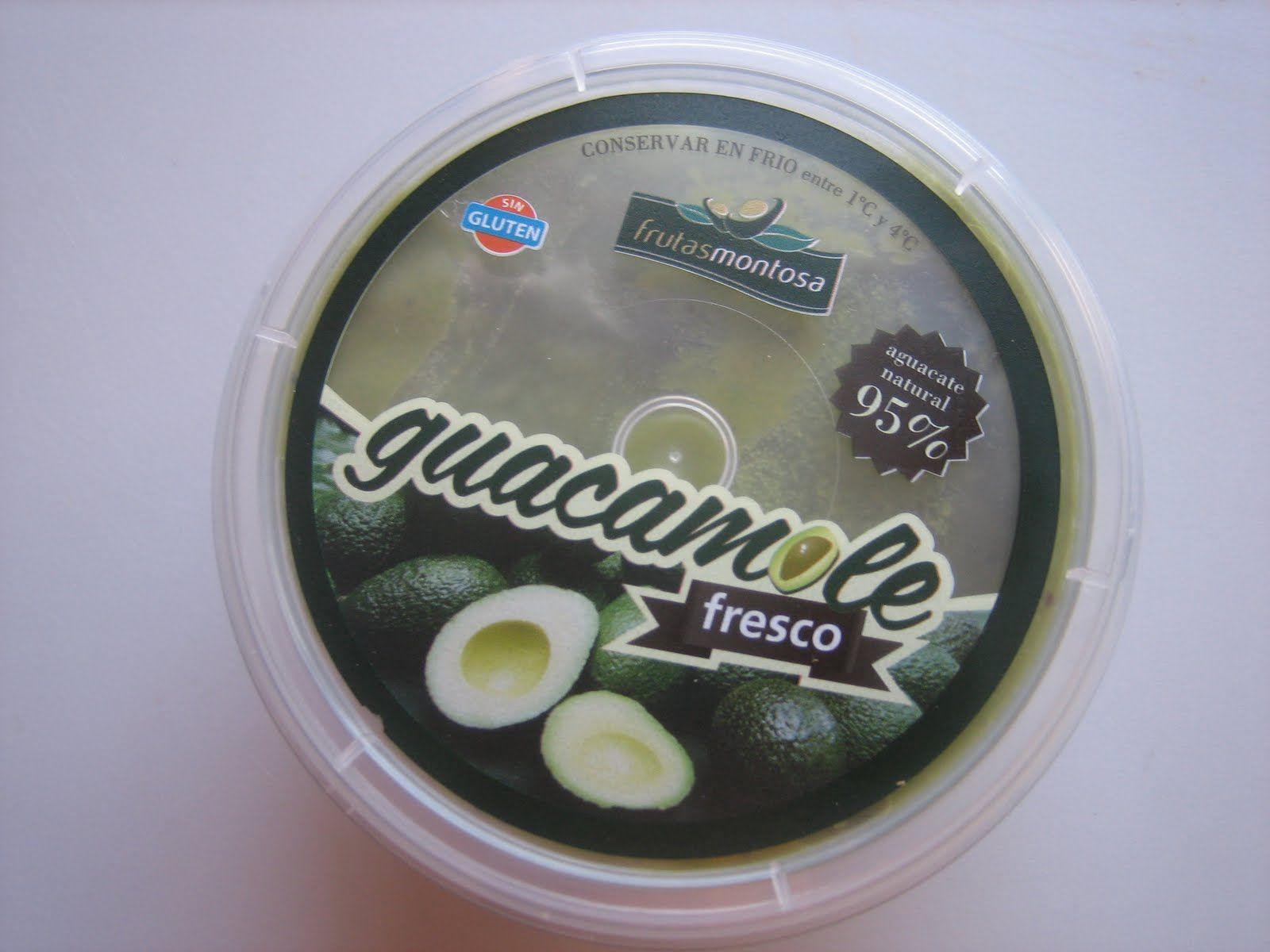 Valmis hyvä guacamole Espanjasta. Voisi lisätä vain mausteita niin olisi helpompaa?