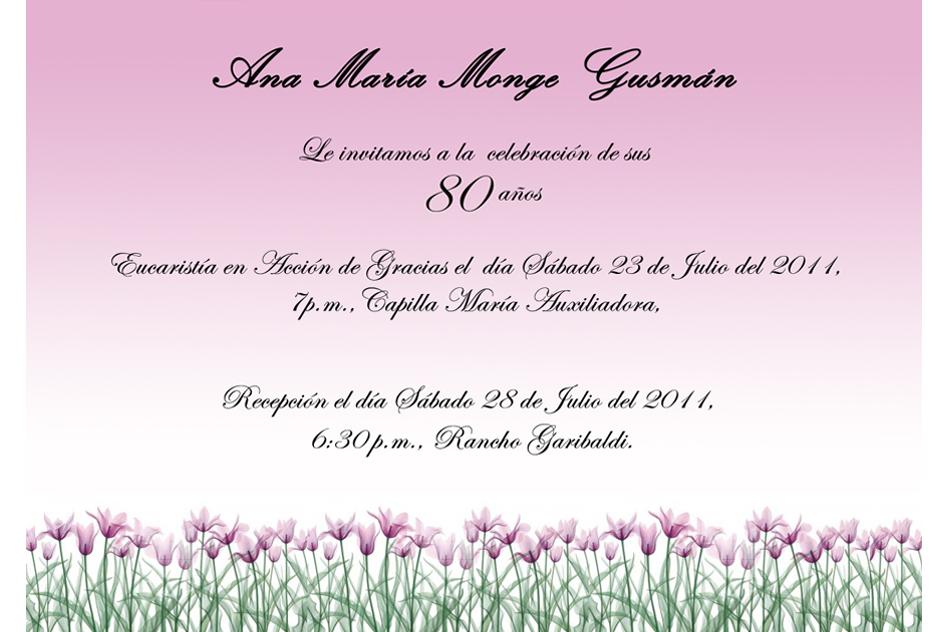 Invitaciones De Cumpleaños De Adultos Para Descargar Al Celular 1 en ...