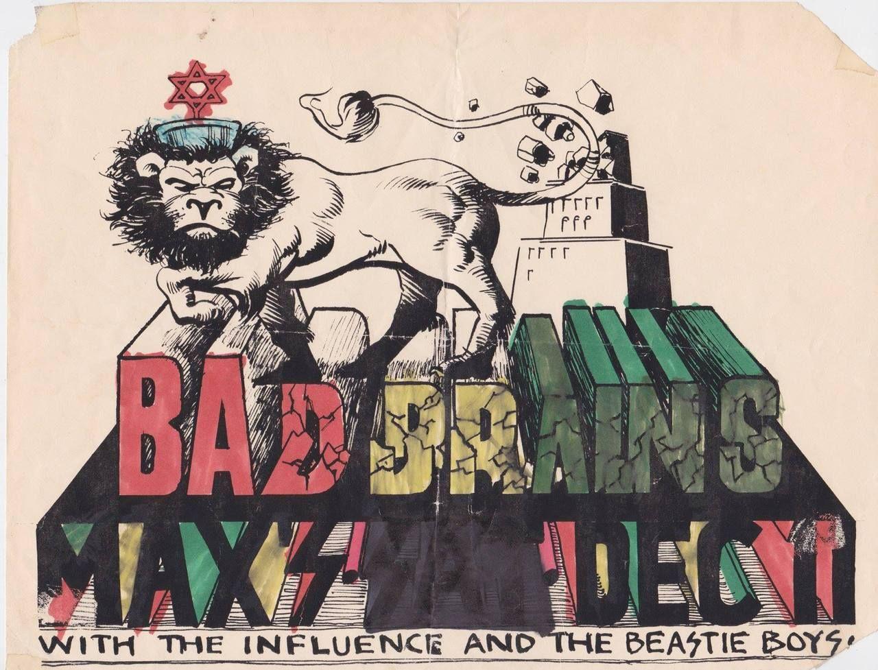 Bad Brains poster